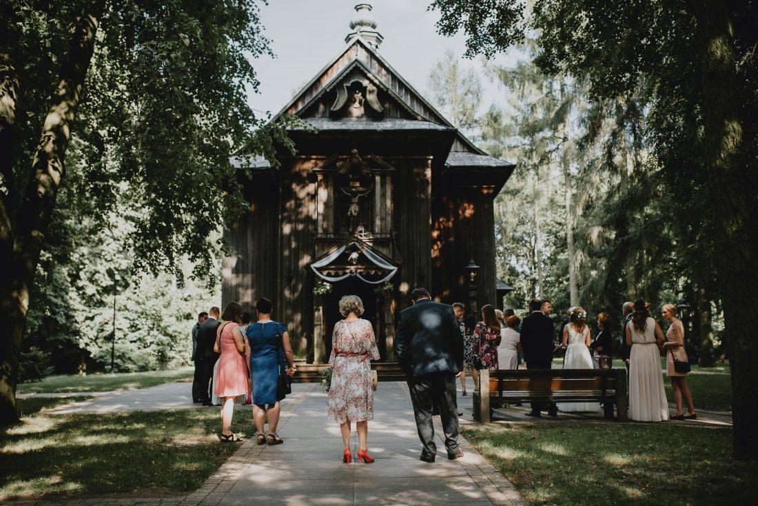 ślub w kościele bardzice zabytek